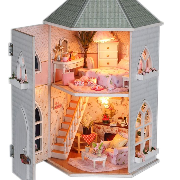 102 Best Images About DIY Dollhouse Kits On Pinterest