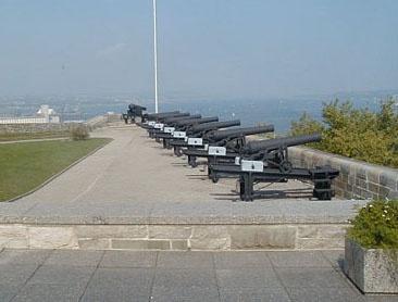 La Batterie Royale de la Citadelle de Québec de nos jours. CSA