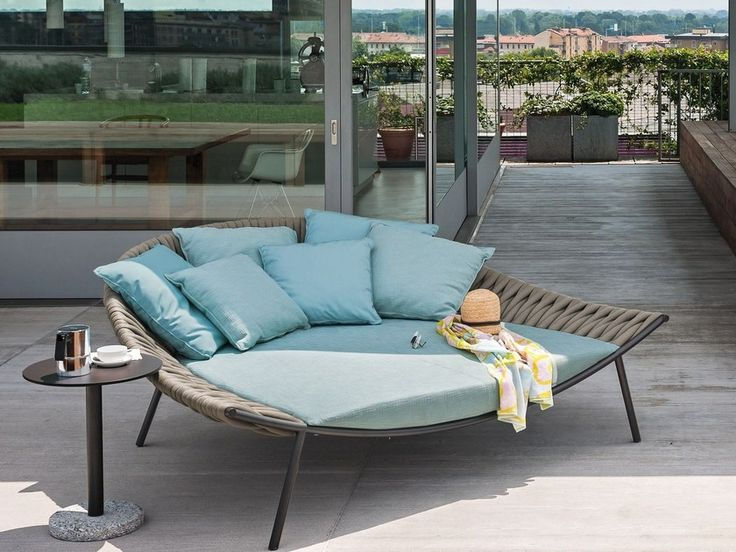 Download the catalogue and request prices of Arena By roda, fabric garden bed design Gordon Guillaumier