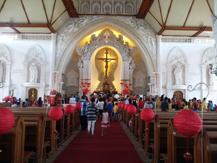 Gereja Paroki Roh Kudus Katedral in Denpasar, Bali