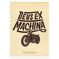 Deus Ex Machina - Cassaro print