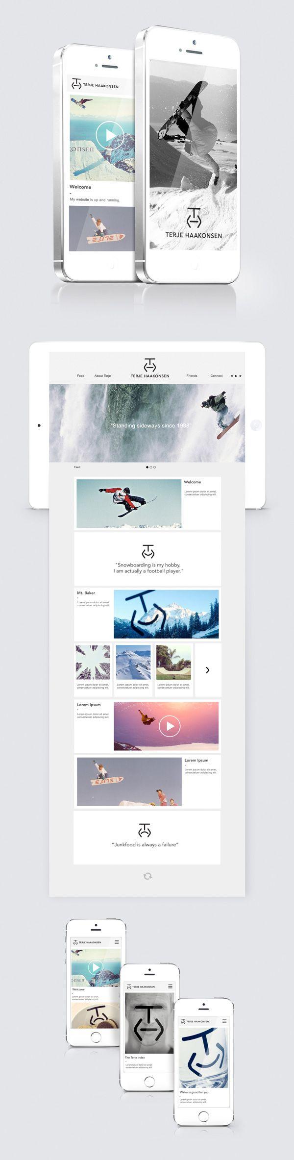 Las Tendencias Ultimate para la inspiración de interfaz de usuario: Animado Conceptos, menús, gráficos SVG y más