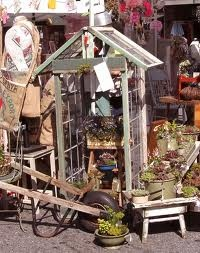 We will be making green houses , for sale soon at The Tourist Trap