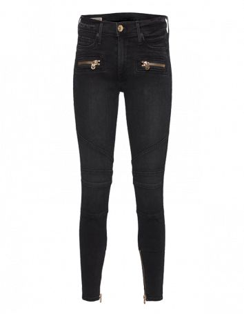TRUE RELIGION Halle Super Skinny Tar Wash