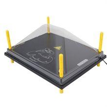 Schutzabdeckung für Wärmeplatte 40x50cm, Kunststoff (PET)