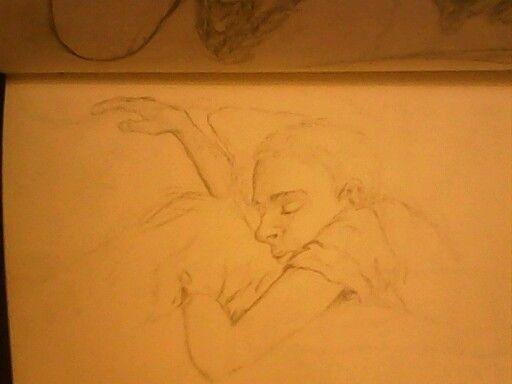Sleeping boy by keylee181