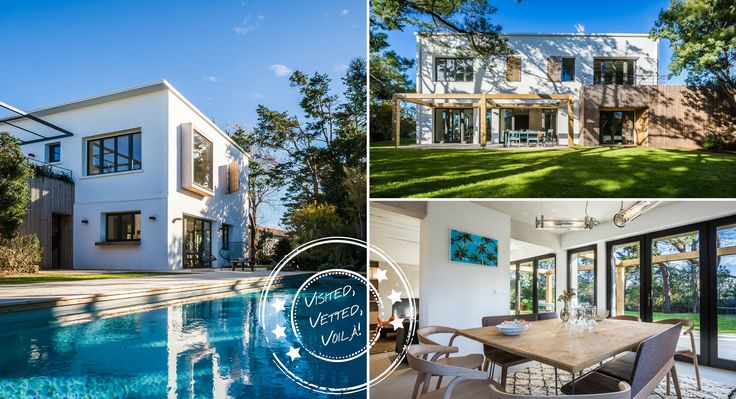 Villa Paradis, Biarritz, Aquitaine, France Stunning house, spacious, all bedrooms en suite, quiet location and shady garden. Long pool for keen swimmers! Ideal for easy access to both Biarritz and Bidart.