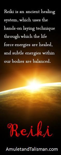 Reiki Energy Healing. Not sure it healed anything but I had two reiki sessions…