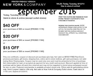 Free coupons new york