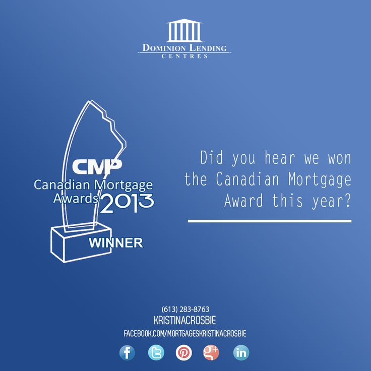 Top Canadian Mortage Lenders!  http://kristinacrosbie.blogspot.ca/2013/09/motivation-for-mortgages.html