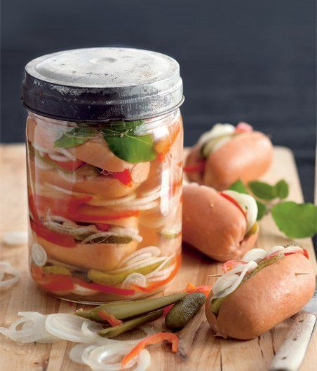 Czech pickled sausages - Food of Czechia