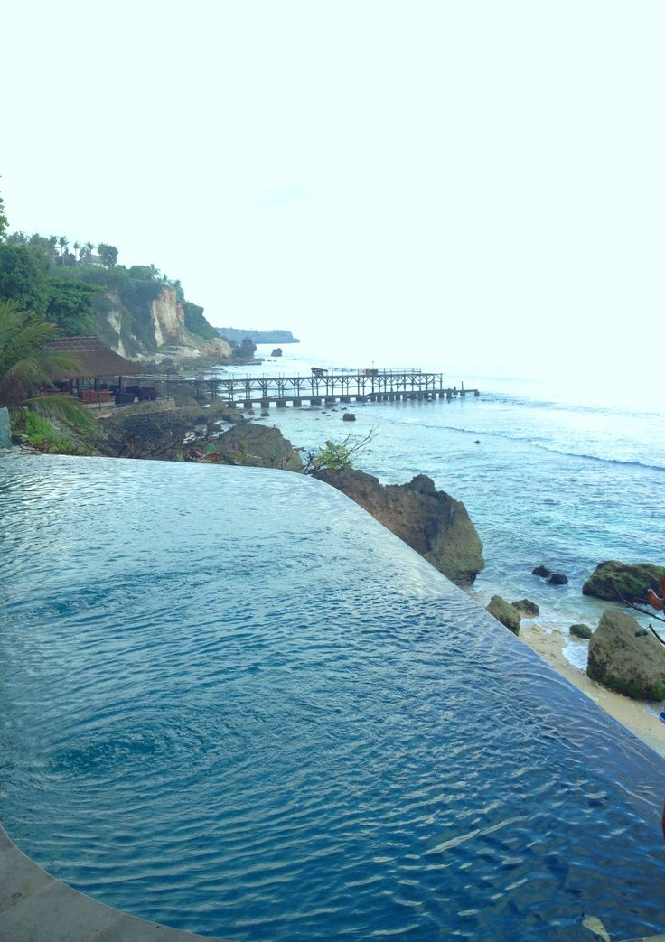 Early morning swim - AYANA Resort, Bali