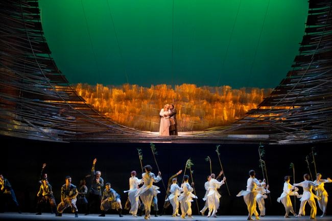 Berlioz's Les Troyens from The Met | I watched the last half yesterday and I NEED to see the whole thing. I missed Deborah Voigt singing Cassandra!