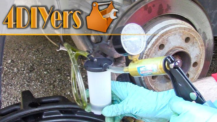 How to flush your vehicle's brake fluid.