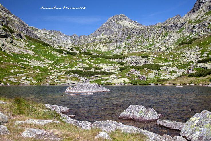 Lake in High Tatras mountains, Slovakia