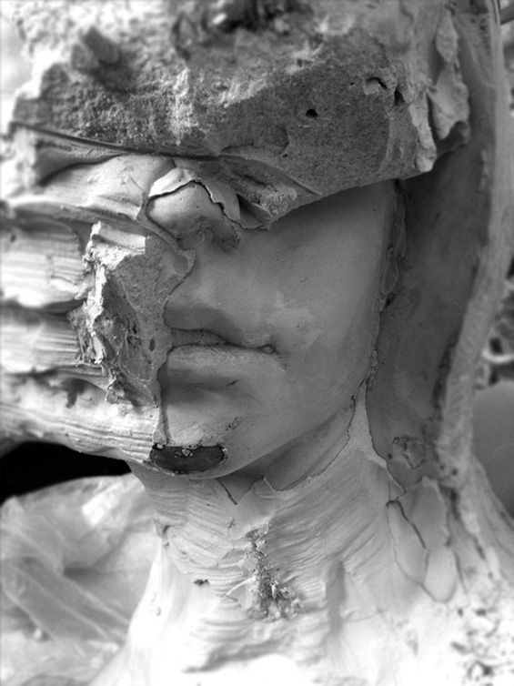 Enrico Ferrarini's Takes Traditional Sculpture To Its Digital Conclusion - Beautiful/Decay Artist  Design