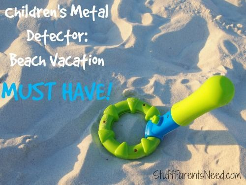 Hit the Beach with a Metal Detector for Kids