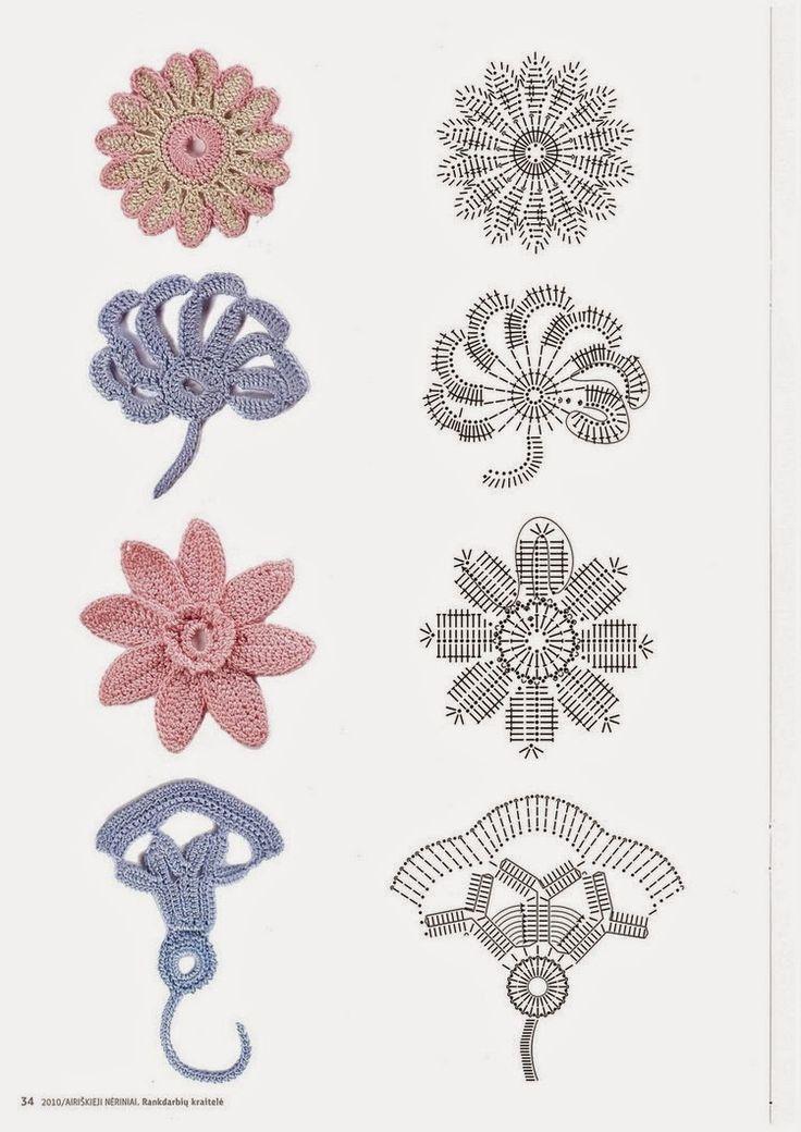 Mejores 14 imágenes de encaje olgemi en Pinterest | Crochet irlandés ...