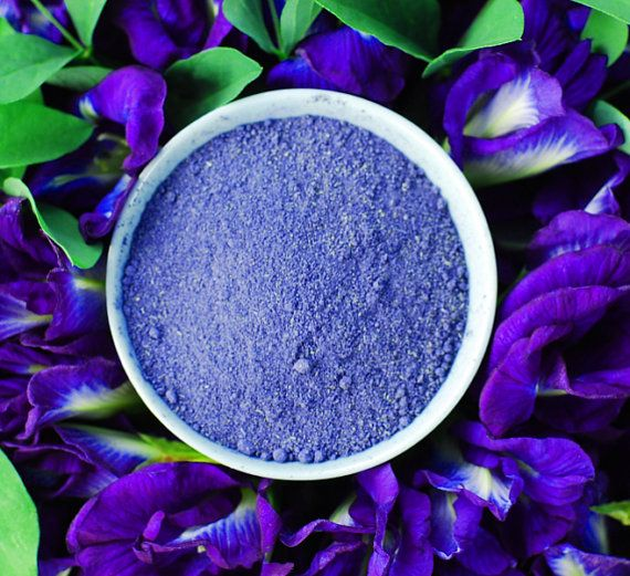 10 Grams Organic Blue Tea Dried Herb Butterfly Pea Flowers