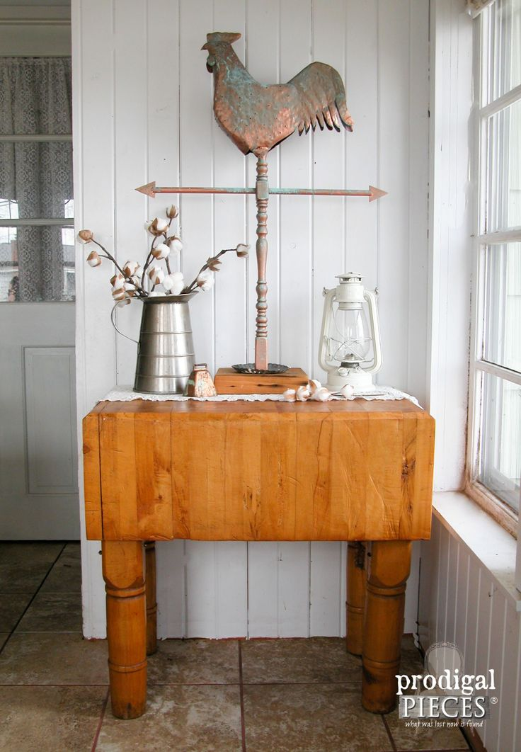 Repurposed Wood and Metal Faux Weather Vane by Prodigal Pieces | www.prodigalpieces.com