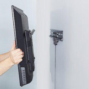 Amazonbasics No Stud Tilting Tv Wall Mount For 32 Inch To 80 Inch Tvs Tilting Tv Wall Mount Wall Mounted Tv Tv Wall Mount Bracket