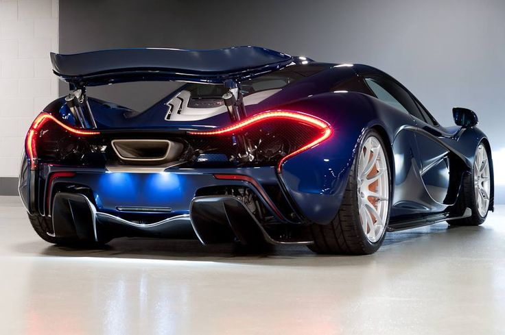 McLaren P1 in blue - Man, can I just drive one for. Few minutes? Haha