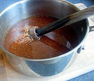 Bourbon Mopping Sauce for Pork