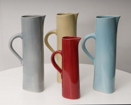 Bob Steiner Ceramics - Handmade Ceramics in New Zealand cuba jugs