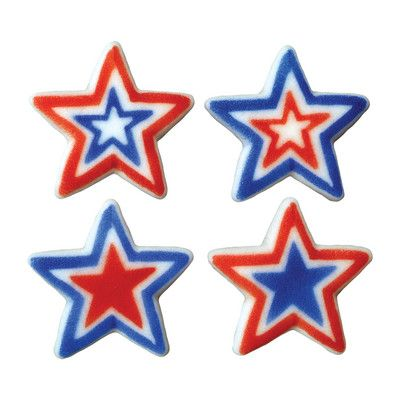 Cake Decorations Blue Stars : 17 Best images about Red, White and Blue on Pinterest ...