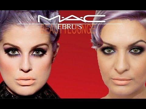 ▶ Covergirls: Kelly Osbourne MAC Look / Ebru's Beauty Lounge - YouTube