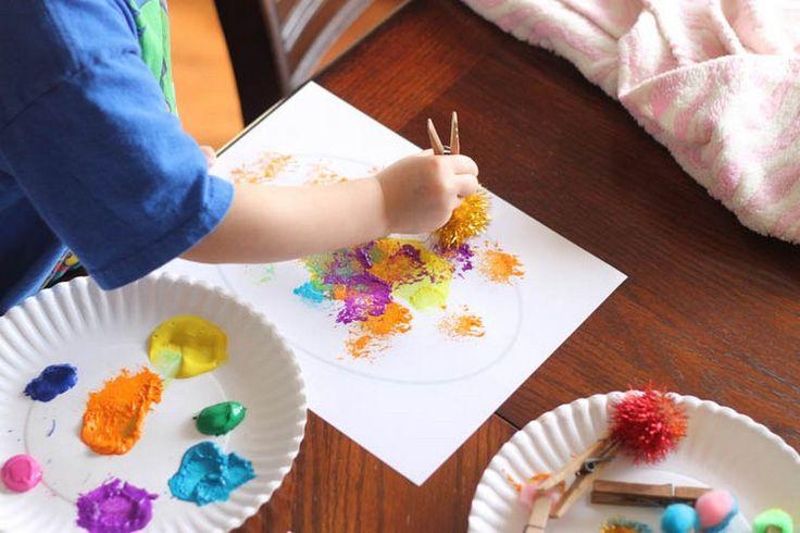 Basteln mit Kindern unter 3 Jahren – Кreative Ideen zu jeder Jahreszeit – Basteln