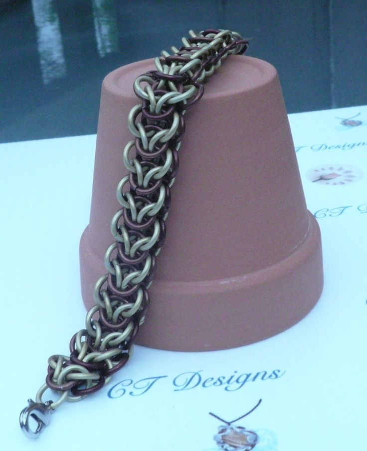Bracelet Elfweave chainmaille by CTDesigns2 on Etsy
