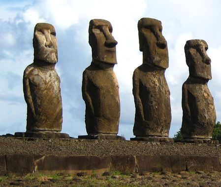 Easter Island----one of the 7 wonders of the world