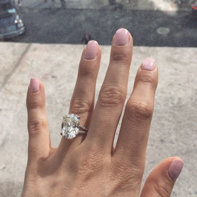 The forever #timeless and #beautiful 10 carat, oval, pave split shank ring tag your special someone