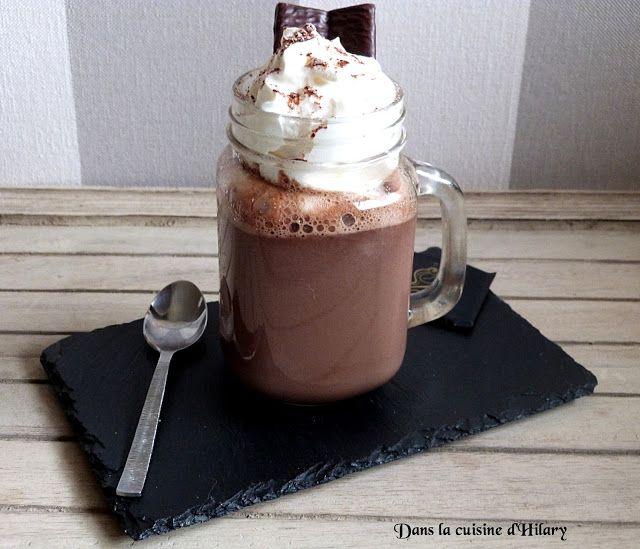 Dans la cuisine d'Hilary: Chocolat chaud gourmand à la menthe (façon After Eight) / Yummy mint hot chocolate (After Eight style)