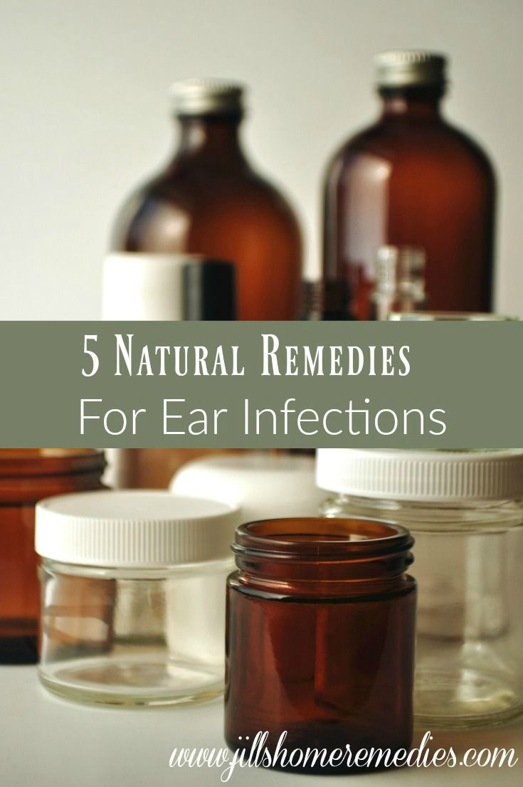5 Natural Remedies for Ear Infections | Jills Home Remedies | Ear infections can be so painful, and children especially suffer from them! Here's how you can naturally treat them at home and be pain-free in no time!
