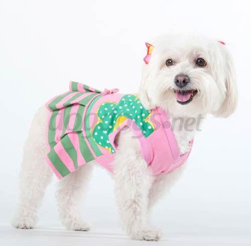 Vestidinho Patricinha para Poodle e cães pequenos.