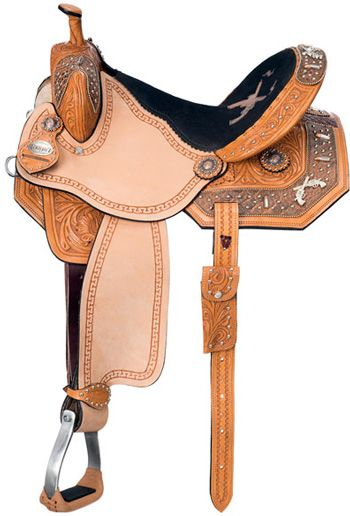 Saddles Tack Horse Supplies - ChickSaddlery.com Silver Royal Pistol Annie Barrel Saddle