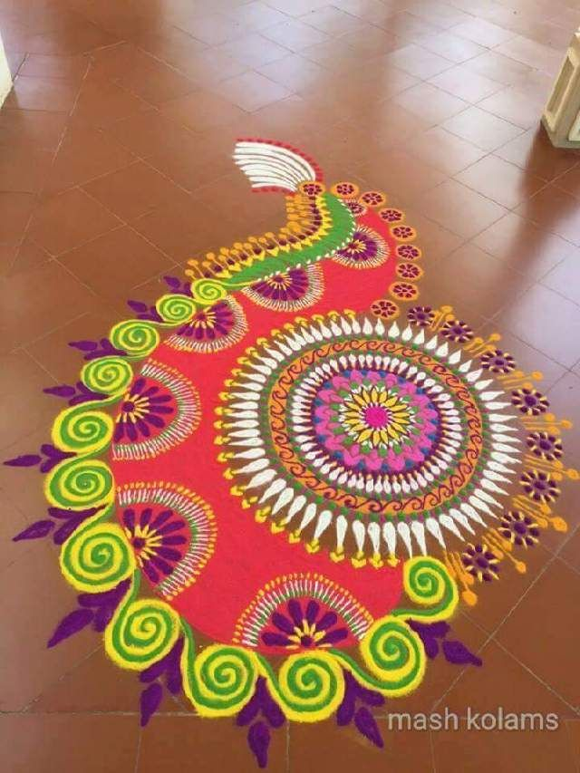 rangoli designs 55 best Rangoli Designs images