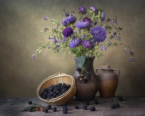 Осень в фиолетовых тонах. Фотограф Ирина Приходько