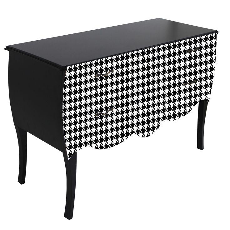 print baroque galinette grande commode 2 tiroirs. Black Bedroom Furniture Sets. Home Design Ideas