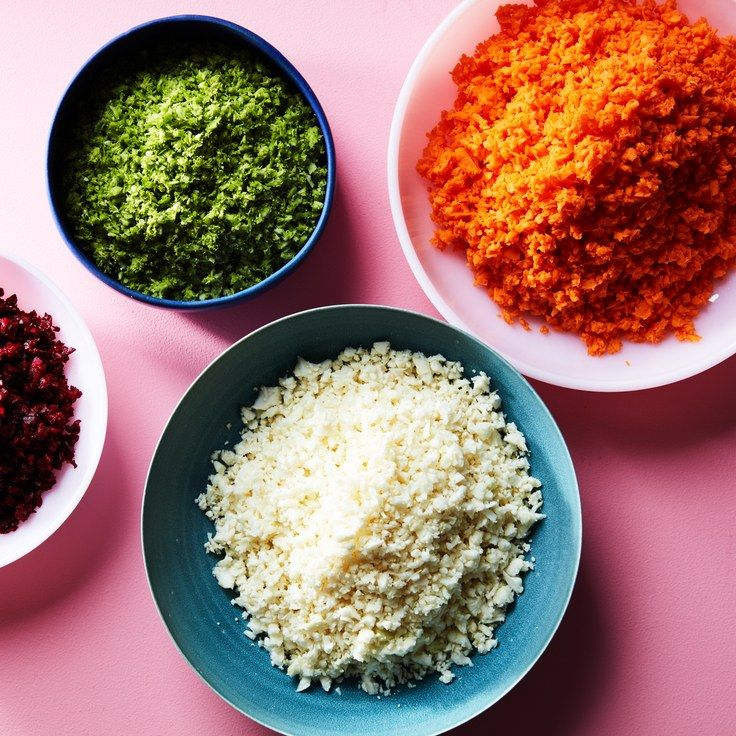 How to Make Paleo Rice Substitute From Any Vegetable