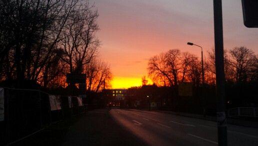 Morgens 7.30 Uhr in Arnstadt