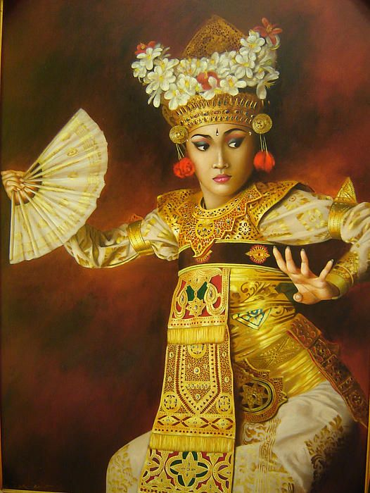 Balinese dancer, Harry Nurdianto