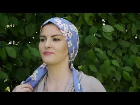 Tête et foulards - Le tutoriel pour apprendre à mettre un foulard sur la tête - YouTube