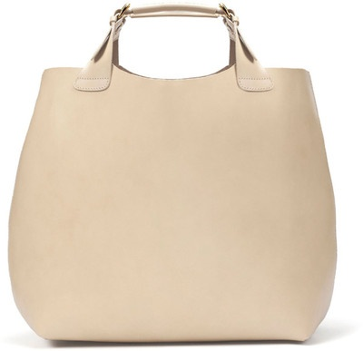 £ 79.99 - A large shopper bag from Zara is perfect for all the festival essentials. A plain colour will not clash with printed leggings or trousers.