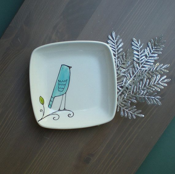 So cute! On Etsy. $16! http://www.etsy.com/listing/81915715/blue-bird-square-tray-small-gift-for-the?ref=fp_treasury_6
