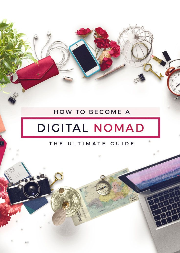 Gain the freedom to live and work from anywhere in the world. Come read this ultimate guide to learn how you can become a digital nomad! via http://iAmAileen.com/how-to-become-a-digital-nomad-guide/ #howto #workonline #ttot