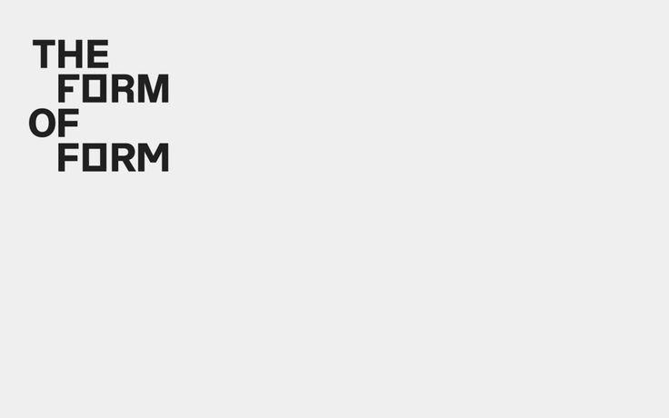 #theformofform #lisbonarchitecturetriennale #logotype #logo #r2design #r2