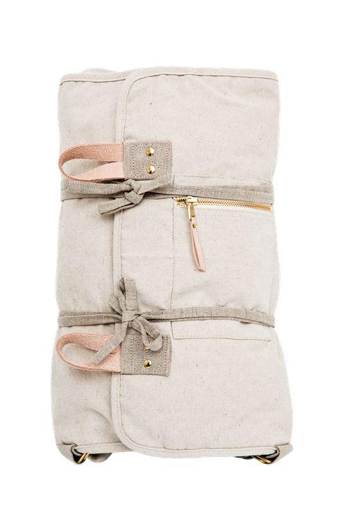 Infinity Bag  •<br /> Lys kanvas Str. L Tænk at en sådan findes👍